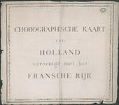 1697 Titelblad bij de kaart van Nederland (in 16 bladen) door C.R.T. Krayenhoff. Met richtingaanduiding en ...