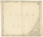 1700 Blad II bij de kaart van Nederland (in 16 bladen) door C.R.T. Krayenhoff. Met richtingaanduiding en ...