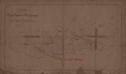 193 Kaart bij de wegenlegger van de gemeente Huisseling en Neerloon, 1881