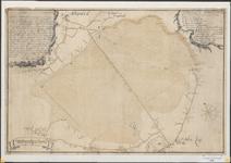 115 Figuratieve kaart van de heide tussen Schijndel en St.-Oedenrode, door landmeter Jan F. van de Weijer van de Raad ...